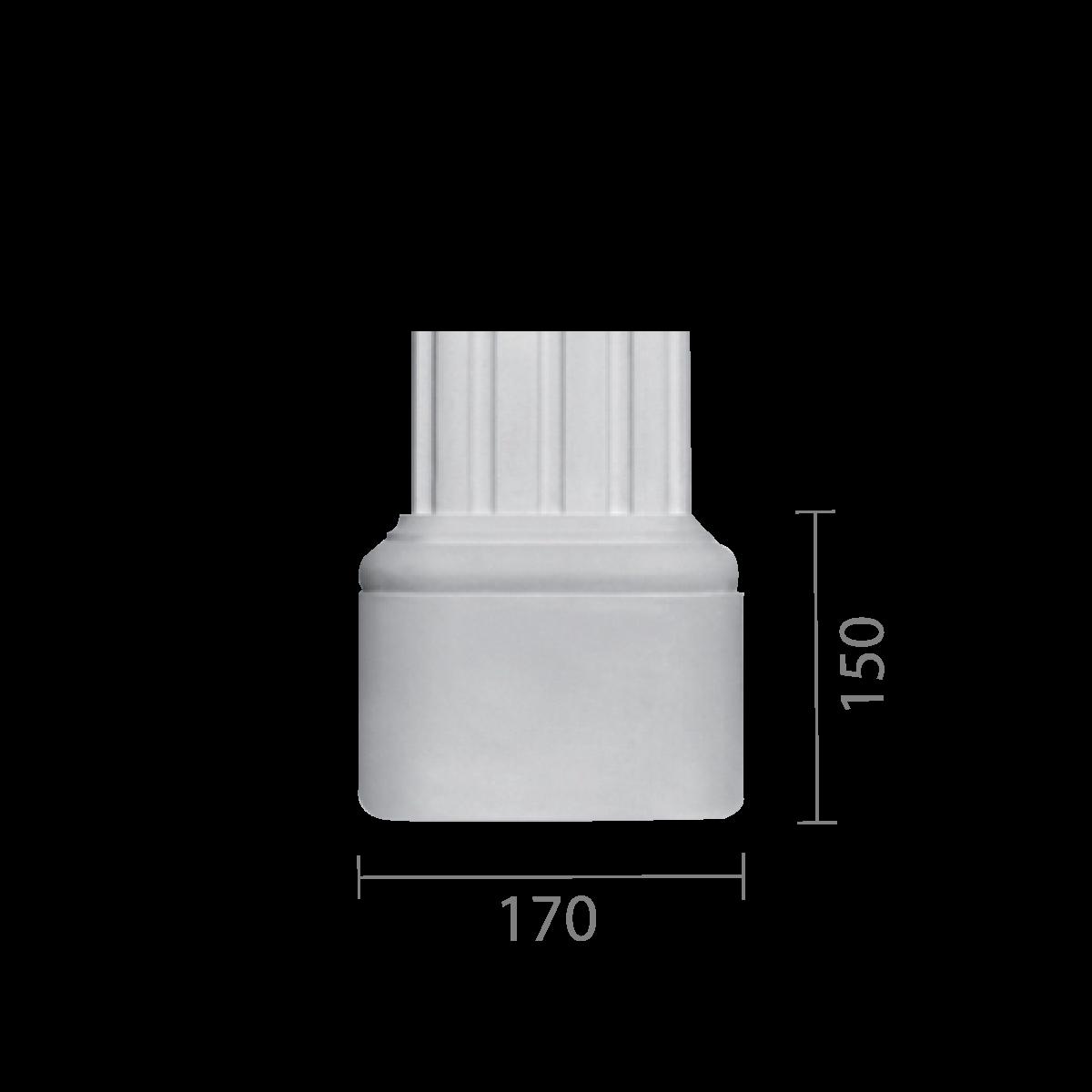 База колонны б-83 (пилястра)