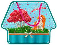 Блокнот детский Malevaro Единорог на замочке в подарочной музыкальной шкатулке D480701-1305