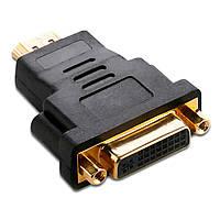 ➨Переходник Lesko HDMI-DVI для подключения монитора телевизора к компьютеру видеокарте