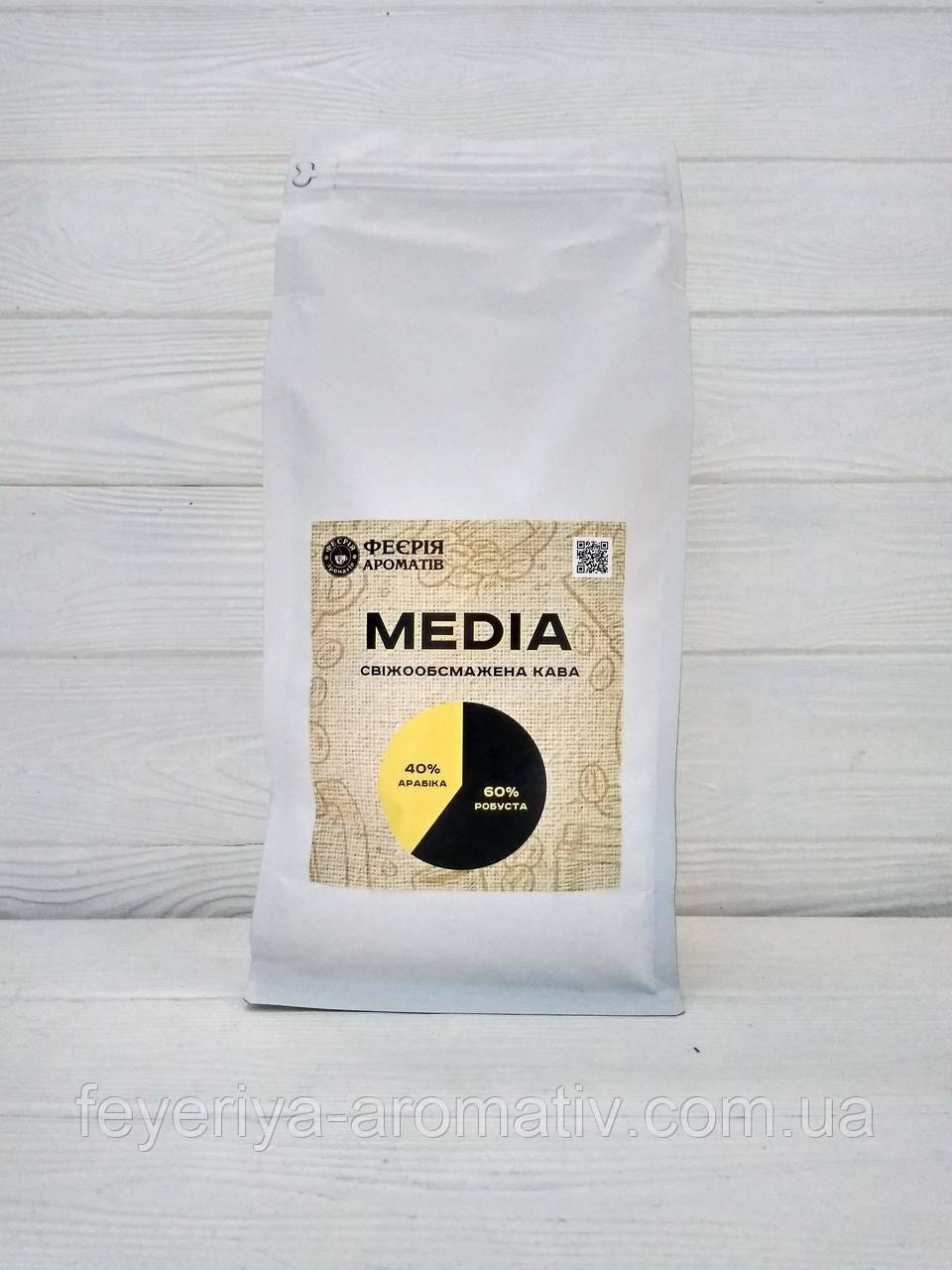 Свежеобжаренный кофе в зернах Media 40/60 1кг