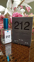 Carolina Herrera 212 Men мужская туалетная вода VIP тестер 50 ml (реплика)