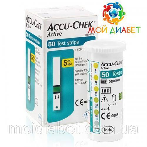 Тест-смужки Accu-Chek Active 50 шт.