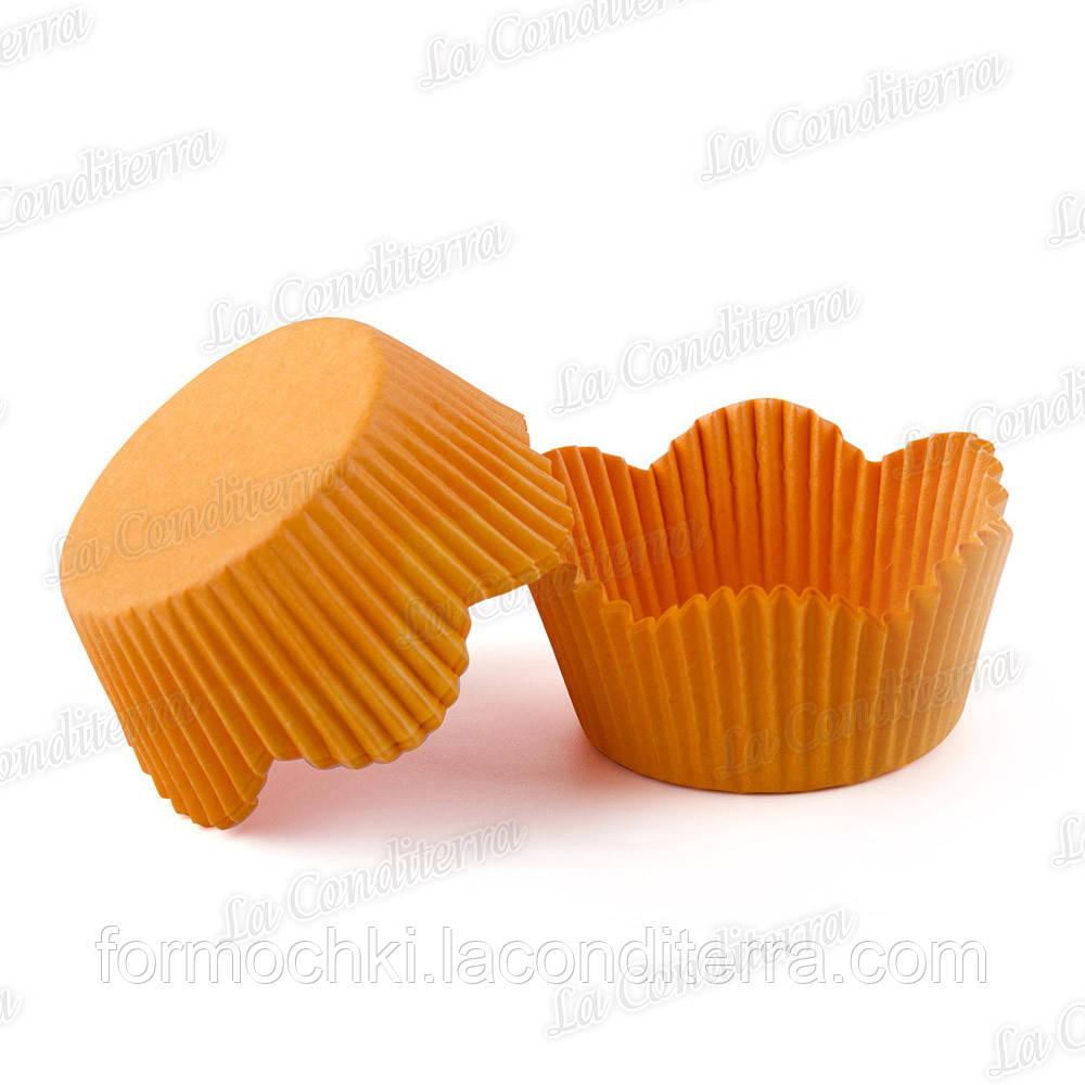 Формы-ромашки оранжевые РМ-7 (диаметр дна - 50 мм, высота бортика - 23/30 мм), 200 шт. в тубусе