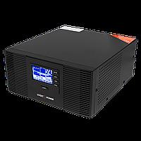 ИБП с правильной синусоидой LogicPower LPM-PSW-1500VA (1050W)12V для котлов и аварийного освещения