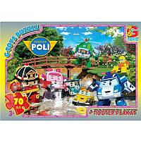 """Пазли із серії """"Робокар Поллі"""", 70 елементів RR067433 ТМ """"G-Toys"""""""