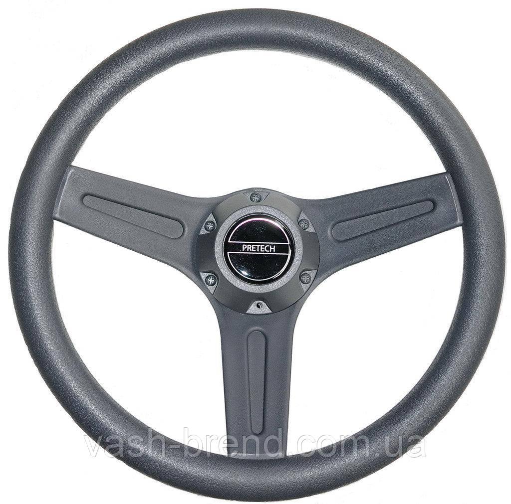 Руль Pretech 320 mm серый
