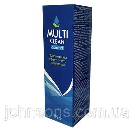 Раствор для контактных линз Multi Clean 350мл, 120мл