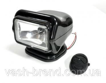 Прожектор-ксенон черный с д/у и креплением, 4400 lm
