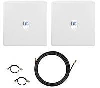 Комплект антенн панельных 3G / 4G LTE 2 шт*16 dBi