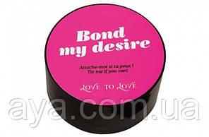Скотч для бондажа Love To Love BOND MY DESIRE Черный