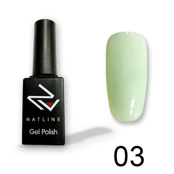 Цветной гель-лак Natline-03, 10 мл