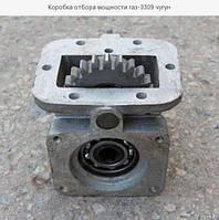 Коробка отбора мощности ГАЗ-3309 под НШ , механика.