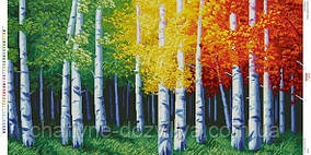 """Схема для вышивки бисером """"Красочная осень"""""""