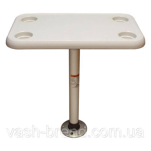 Sf комплект стол прямоугольный 40х70см основание алюминий