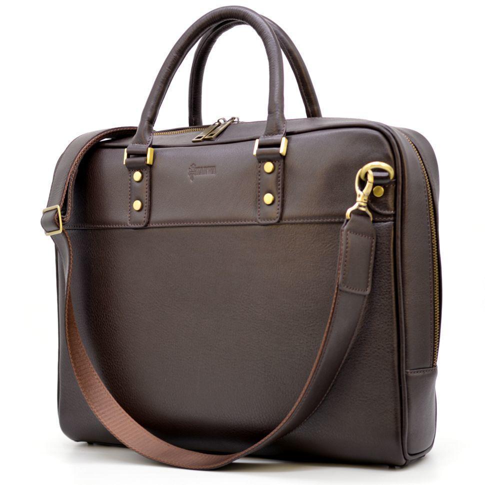 Мужская сумка-портфель из натуральной кожи TC-4765-4lx TARWA