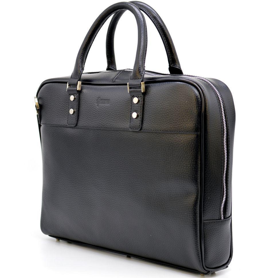 Деловая мужская сумка-портфель из натуральной кожи TA-4765-4lx TARWA