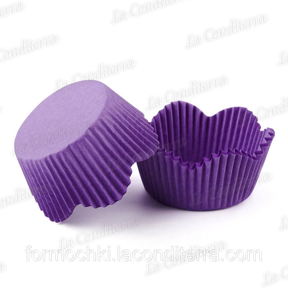 Форми-ромашки пурпурові РМ-7 (діаметр - 50 мм, висота бортика - 23/30 мм), 200 шт. в тубусі