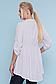 Батальная блузка в мелкий горошек р.48 по 54, фото 4