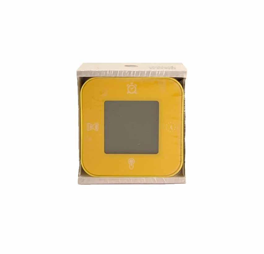 ЛОТТОРП Часы / термометр / будильник / таймер, желтый, 503054143, ИКЕА, IKEA, LÖTTORP
