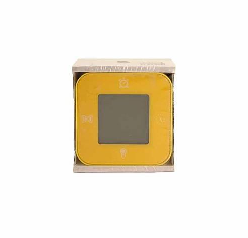 ЛОТТОРП Часы / термометр / будильник / таймер, желтый, 503054143, ИКЕА, IKEA, LÖTTORP, фото 2
