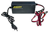 Зарядка Fisher для гелевых аккумуляторов 90-100Ah, фото 2