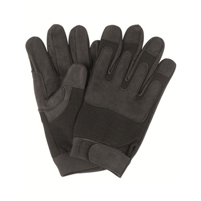 Перчатки, искусственная кожа/эластан MilTec Black 12521002
