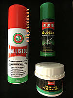 Ballistol набор масел, оружейный