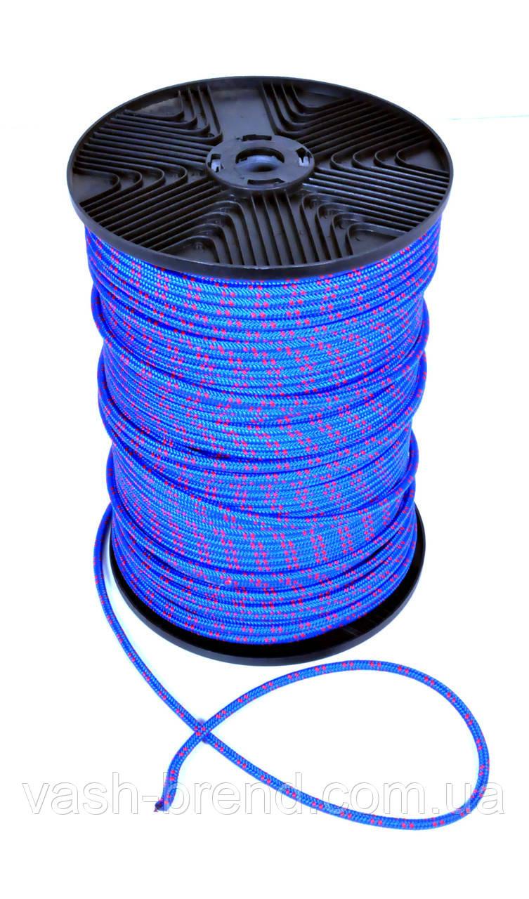 Веревка полипропилен, 6мм, 200м синяя