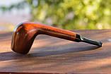 Трубка прямая KAF221 Canadian классическая из дерева груши прямоток, фото 4