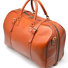 Большая яркая дорожная сумка из телячьей кожи TB-1133-4lx TARWA