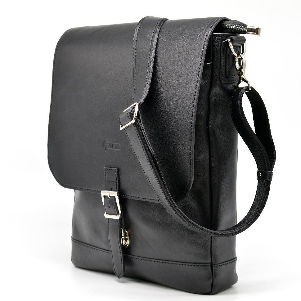 Вертикальная мужская кожаная сумка через плечо GA-1808-4lx бренда Tarwa