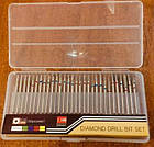Набор 30 шт. алмазных цилиндрических фрез для маникюра, педикюра , фото 6