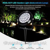 Світильник ландшафтний в грунт Smart Light Milight SYS-RC1 9Вт RGB + CCT LED DC24V IP65, фото 2