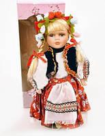 Фарфоровая кукла Украиночка A418
