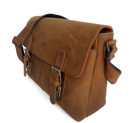 Мужская сумка-мессенджер bx019 Bexhill, из натуральной кожи