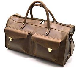 Дорожная кожаная сумка RC-5664-4lx TARWA