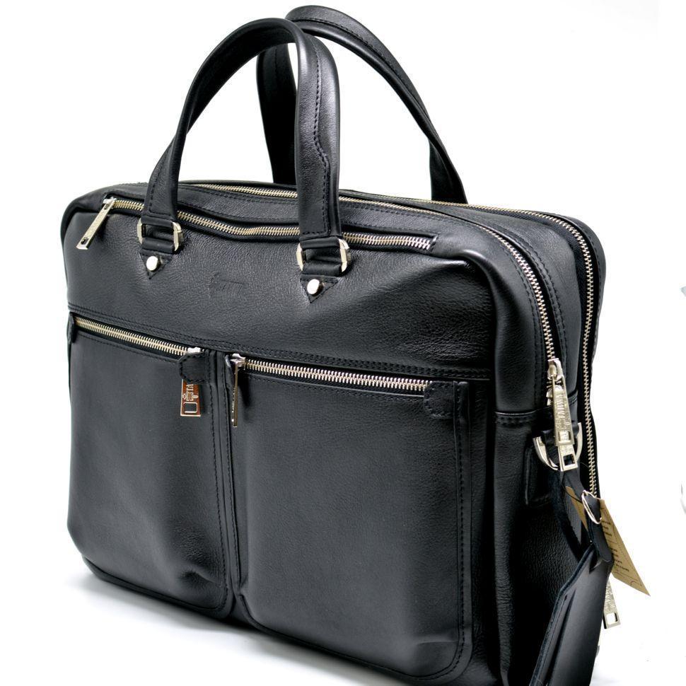 Мужская сумка для документов и ноутбука из натуральной кожи TARWA, TA-4664-4lx