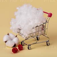 Холлофайбер Fior Textile, 15 dtex, Корея, белый (скидки от 5кг, от 10кг)