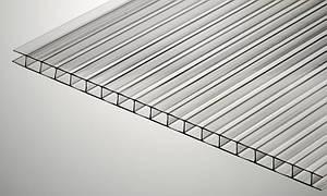 Сотовый поликарбонат Plazit Polygal Kolibri 6 мм прозрачный