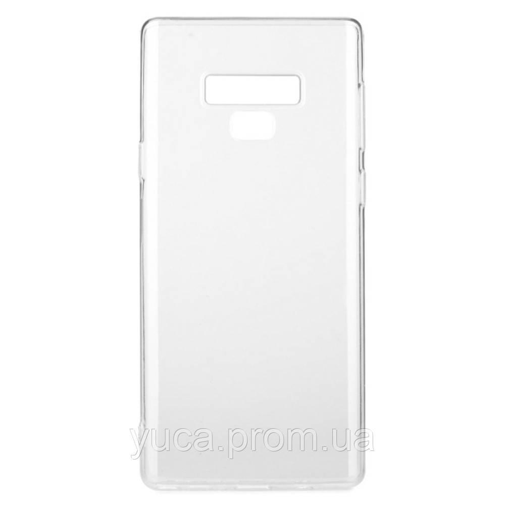Чехол силиконовый для SAMSUNG Note 9 KST прозрачный