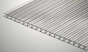 Сотовый поликарбонат Plazit Polygal Kolibri 10 мм прозрачный