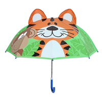 "Детский зонтик 3D ушки ""Тигренок"""