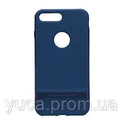 Чехол силиконовый для APPLE Iphone 7 / 8 Plus Rock Royce Original (Full Blue)