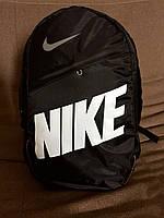 Рюкзак Nike, модель R-55, цвет черный с белым логотипом. , фото 1