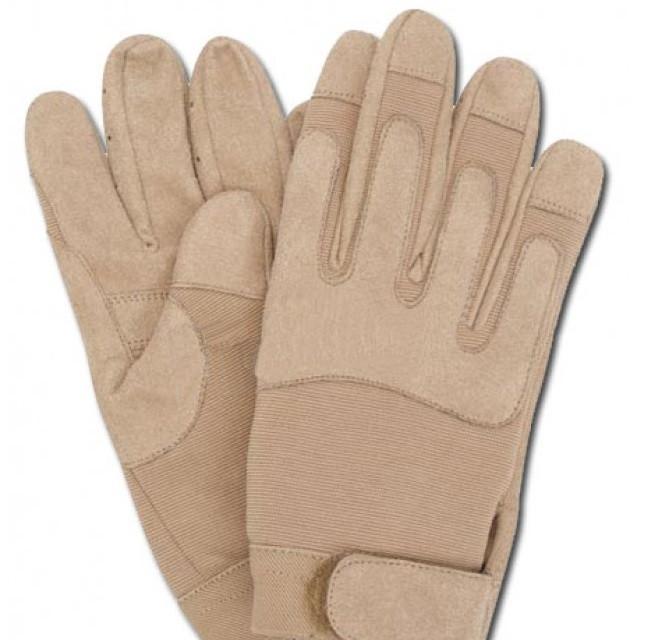 Перчатки, искусственная кожа/эластан MilTec Coyote 12521005
