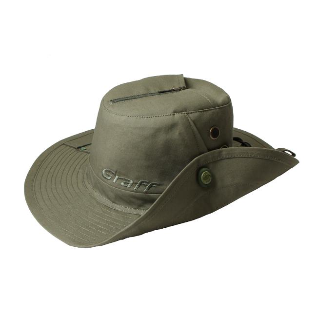 Австралийская шляпа с москитной сеткой Graff 105-OL-M