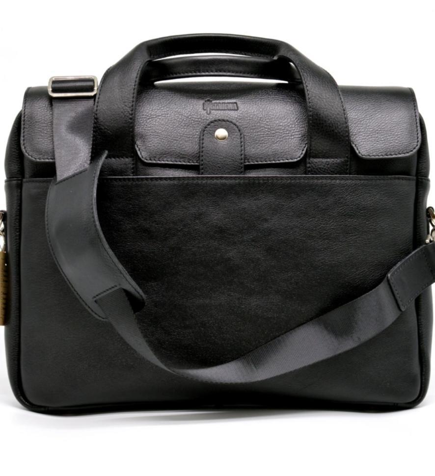 Крутая кожаная деловая сумка-портфель для ноутбука TA-1812-4lx от TARWA