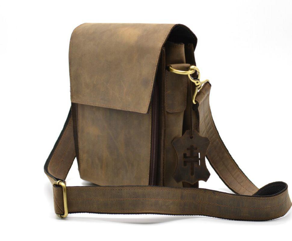 Мужская сумка через плечо RC-3027-3md TARWA, из натуральной кожи