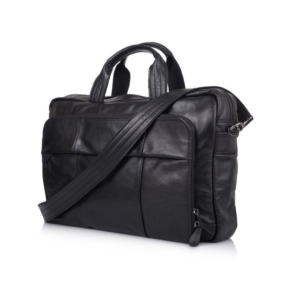 Сумка-портфель для ноутбука в черном цвете GA-7334-3md TARWA