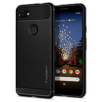 Чехол Spigen для Google Pixel 3a Rugged Armor, Black (F23CS25960)